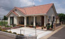 【ガーデニングが映える洋風の家 施工事例:古河市・Sさま】