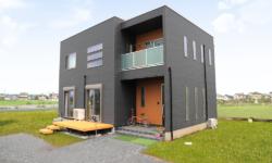 【こだわりいっぱいのシンプルモダンな家 施工事例:Kさま】