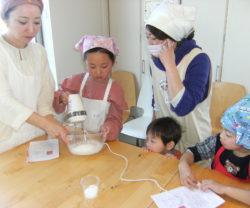 親子料理教室を開催しました @はぴしぇあ