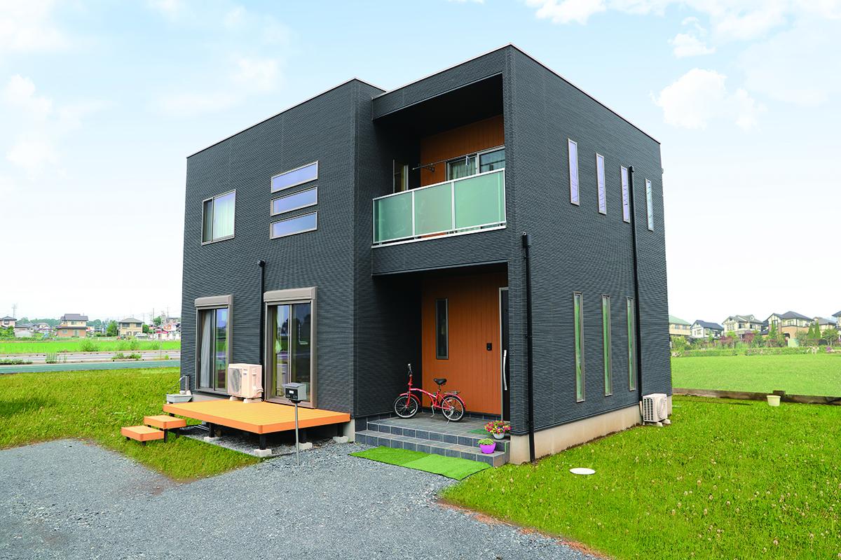住宅 キューブ 型